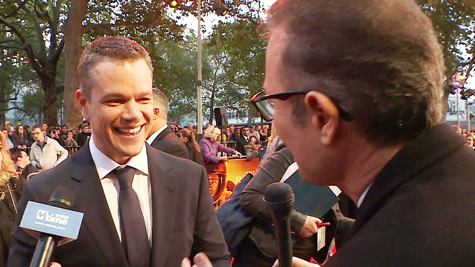 Matt Damon, London 2015