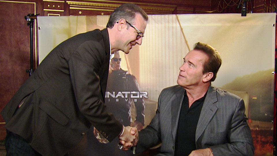 Arnold Schwarzenegger, TERMINATOR GENISYS, Berlin 2015