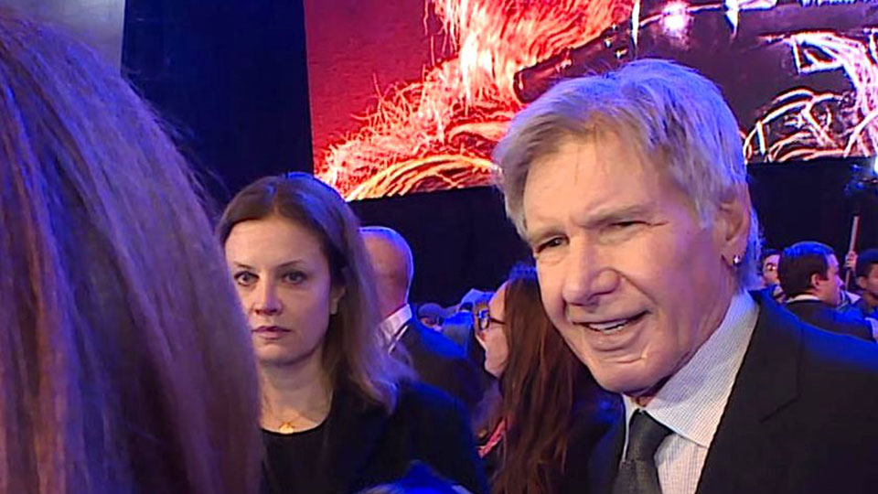 Harrison Ford, London 2015