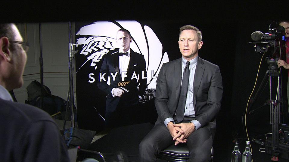 Daniel Craig, SKYFALL, London 2012
