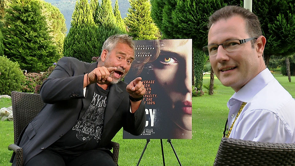 Luc Besson, LUCY, Ascona 2014