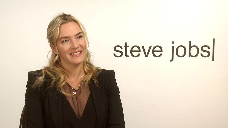 Kate Winslet, STEVE JOBS, London 2015
