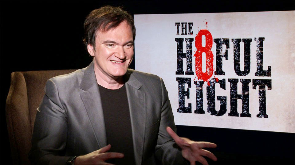 Quentin Tarantino, THE HATEFUL EIGHT, Los Angeles 2015