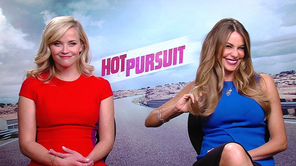 Reese Witherspoon und Sofia Vergara, HOT PURSUIT, Los Angeles 2015