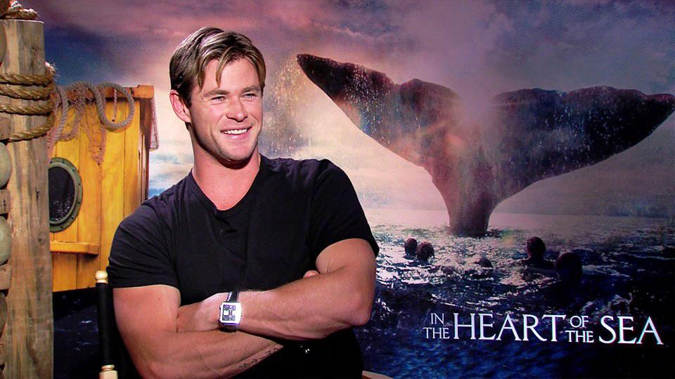 Chris Hemsworth, HEART OF THE SEA, New York 2015
