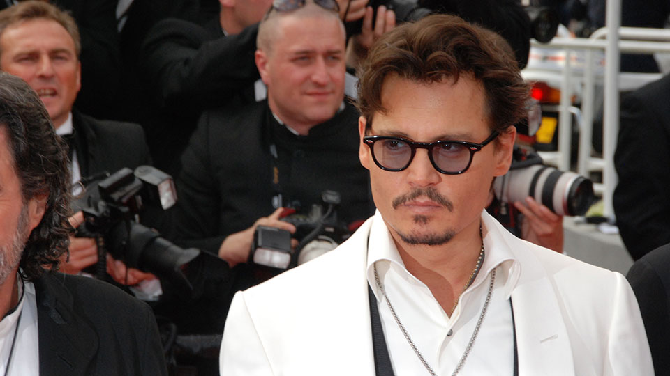 Johnny Depp, Cannes 2011