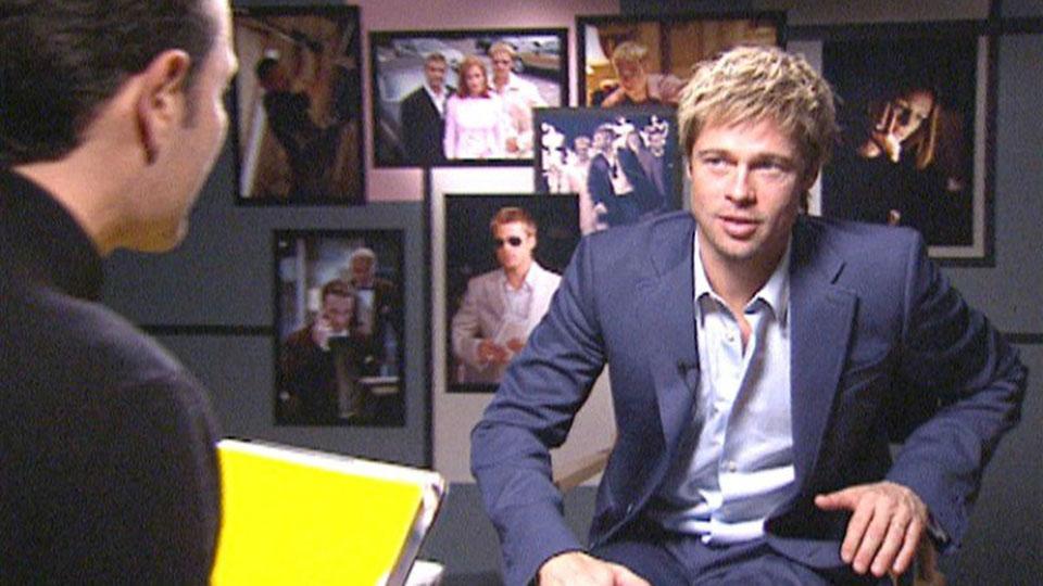 Brad Pitt, OCEANS 11, London 2001