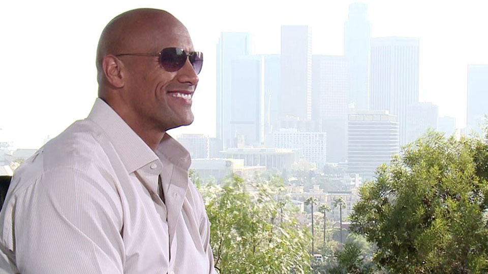 Dwayne Johnson, FAST & FURIOUS 7, Los Angeles 2015
