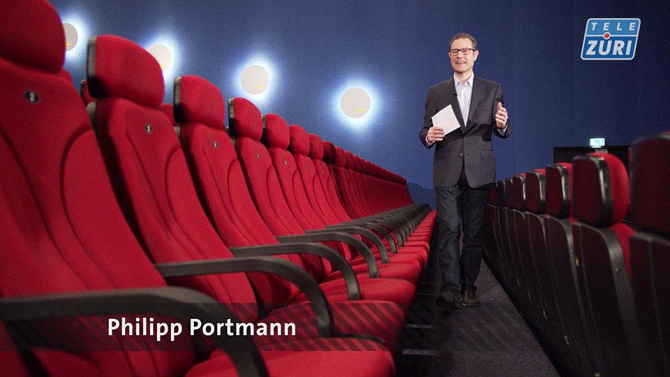 Kino auf Tele Züri mit Philipp Portmann
