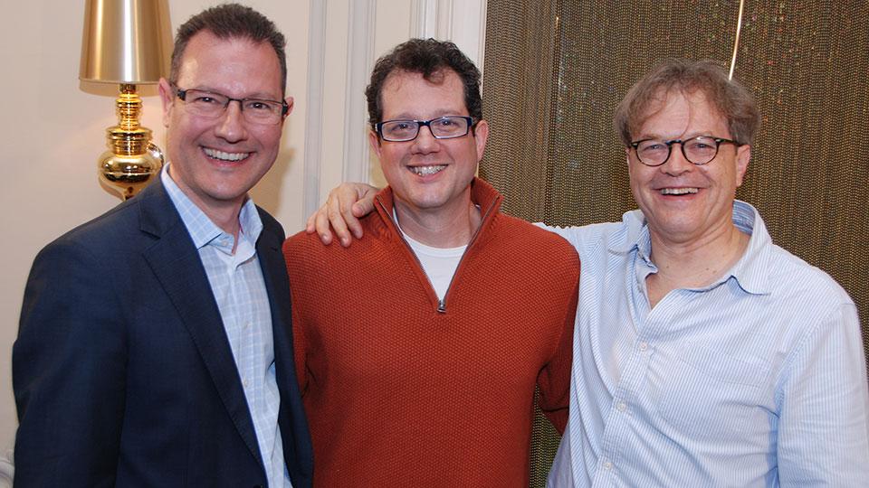 Michael Giacchino und Ludwig Wicki, JUPITER ASCENDING, Luzern 2014