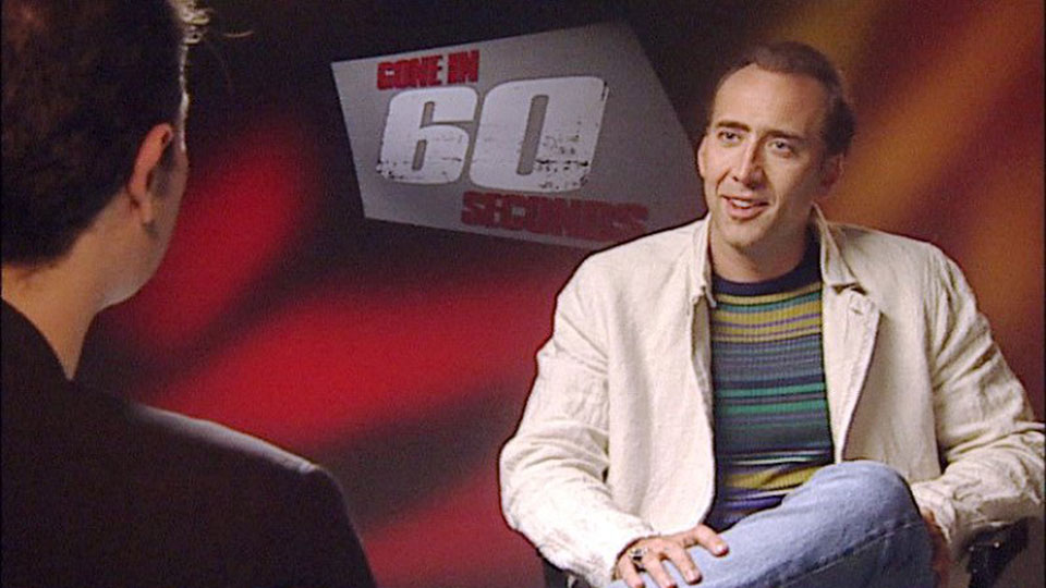 Nicolas Cage, GONE IN 60 SECONDS, Athen 2000