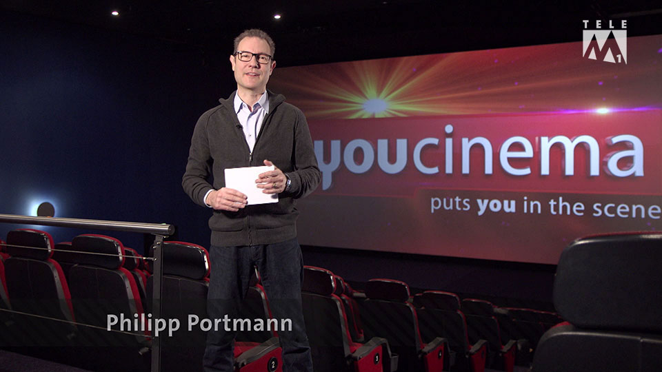 Kino auf Tele M1 mit Philipp Portmann