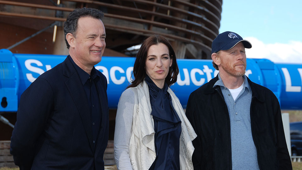 Tom Hanks, Ayelet Zurer, Ron Howard, Genf 2009